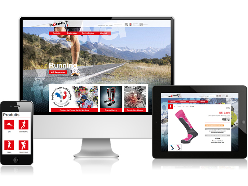 site e-commerce monnet sport